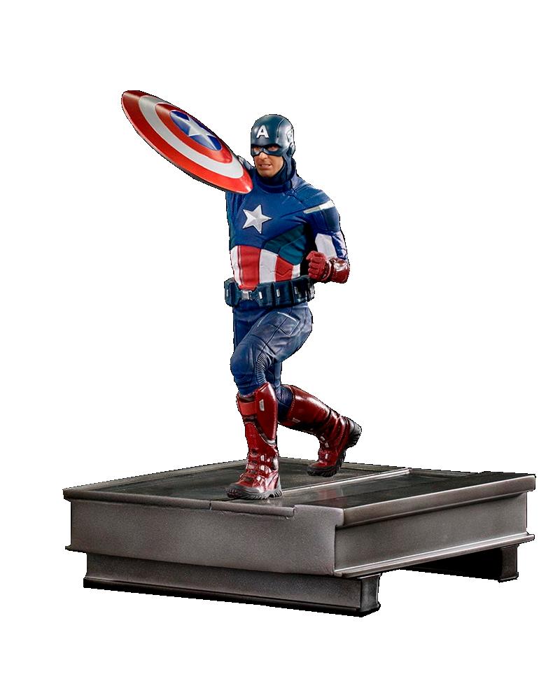 Figura Capitán America de Avengers: Endgame Marvel Gallery