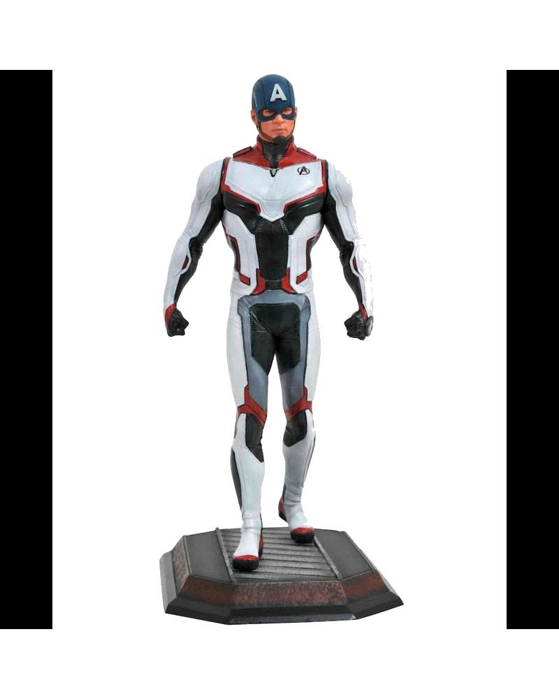 Figura Capitán América Diorama Marvel Movie Gallery de Avengers: Endgame