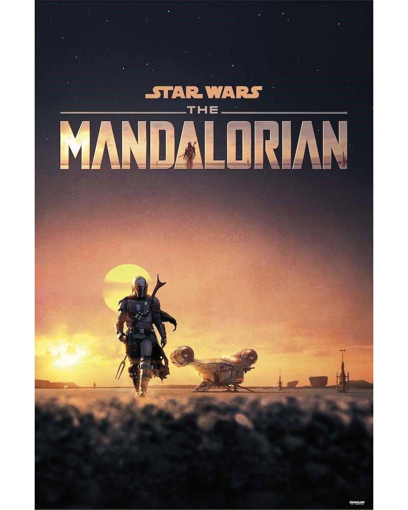 Póster Star Wars The Mandalorian