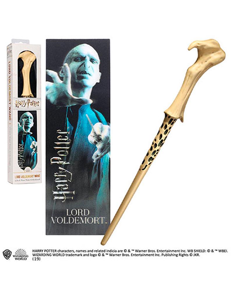 Varita con Marca Páginas de Lord Voldemort