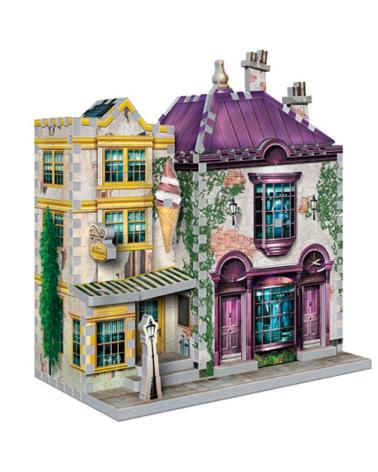 Puzzle 3D Harry Potter - Boutique & Ice Cream Diagon Alley