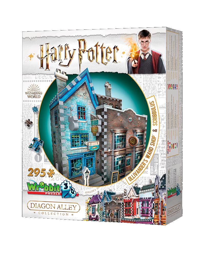 Puzzle 3D Harry Potter - Tienda Ollivander´s & Scribbulus