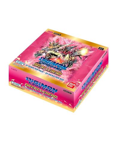 Digimon Card Game Booster Great Legend [BT04] Sobre