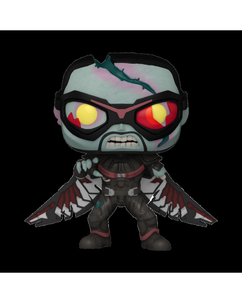 Funko Pop Zombie Falcon de Marvel What If...? (PREVENTA)
