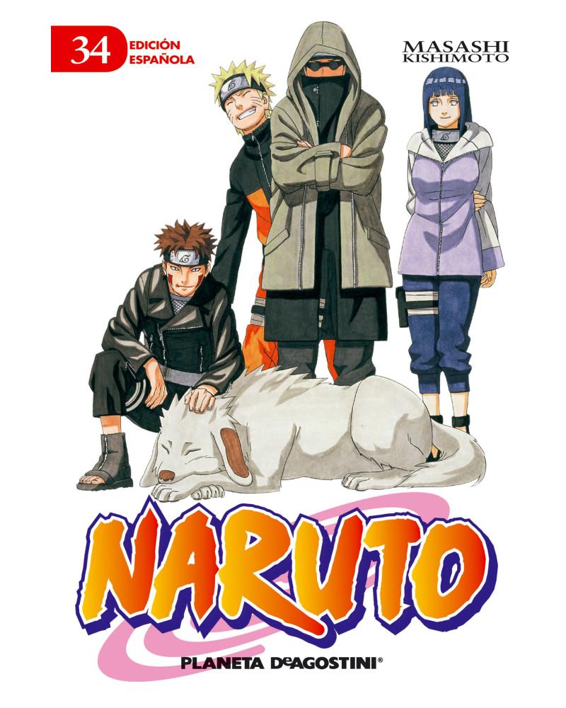 Manga Naruto nº 34
