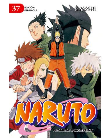 Manga Naruto nº 37