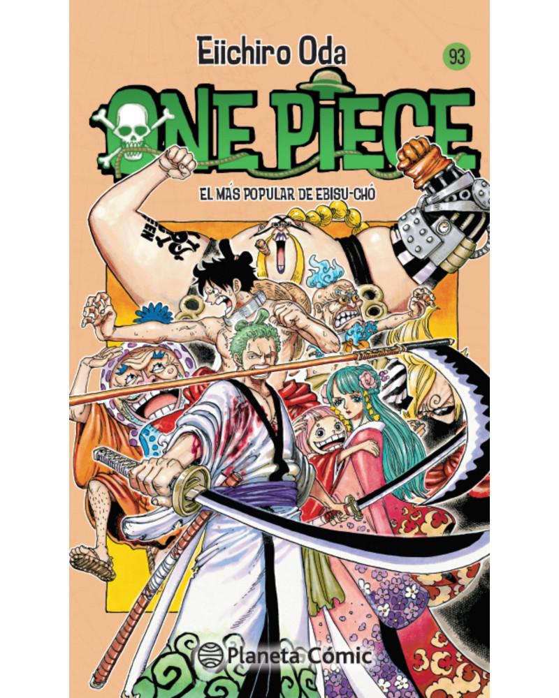 Manga One Piece nº 93