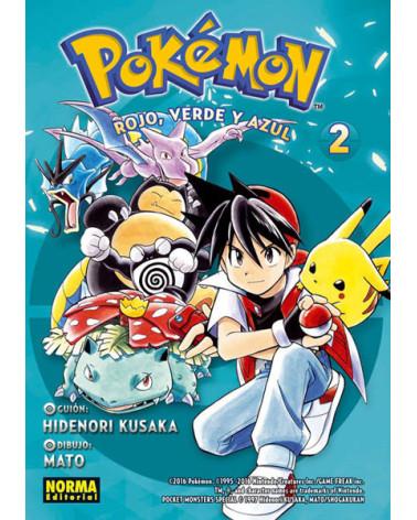 Manga Pokemon 02. Rojo, Verde y Azul 02