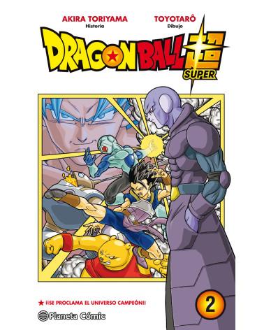 Manga Dragon Ball Super nº 02