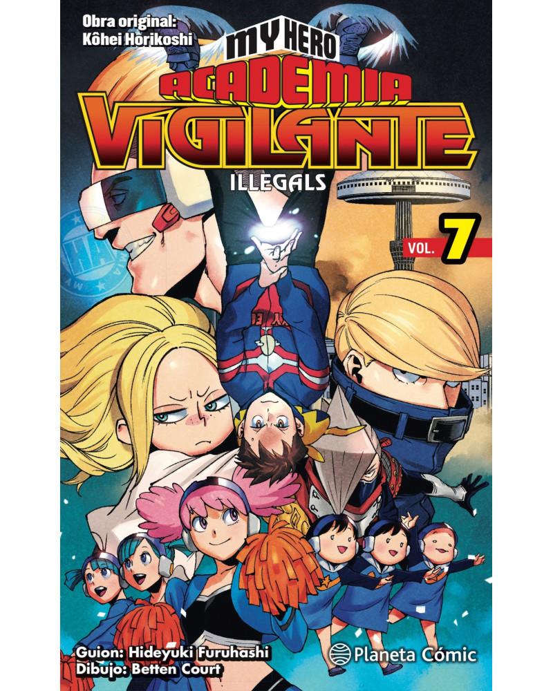 Manga My Hero Academia Vigilante Illegals nº 07