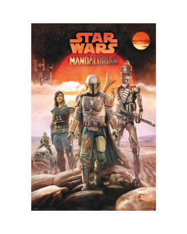 Póster The Mandalorian Crew