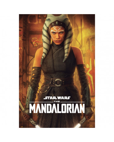Póster Ahsoka Tano The Mandalorian